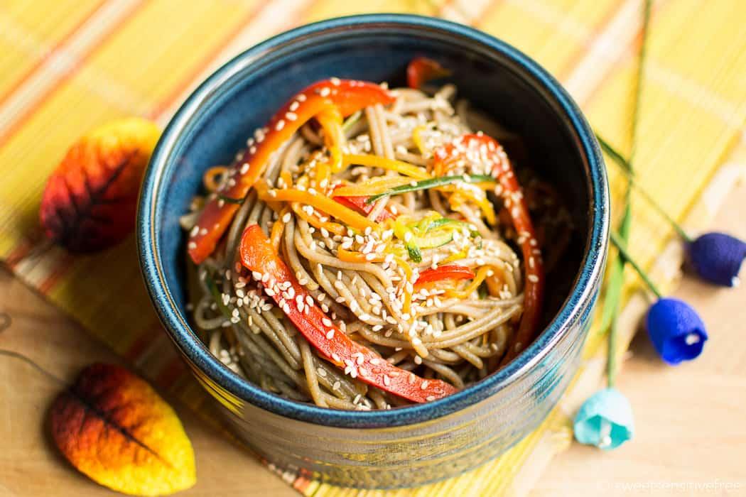 Daily asian style spaghetti girl
